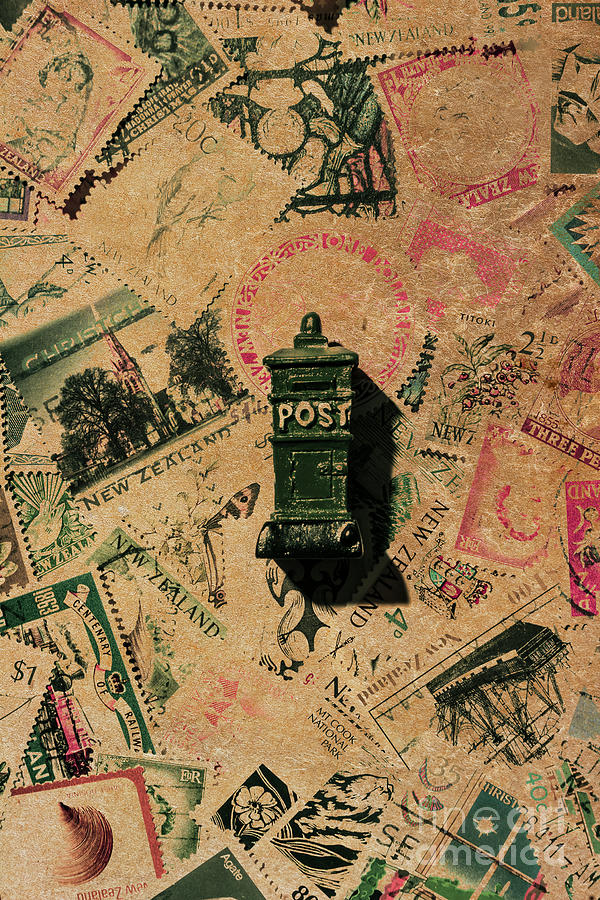 Postage Photograph - Past Letters In Post by Jorgo Photography - Wall Art Gallery