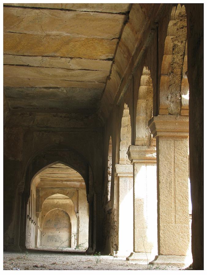 Light Photograph - Past Memory S 3 by Kishan Meena