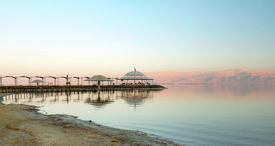 Pastel colors of the Dead Sea by Adriana Zoon