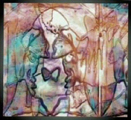 Abstract Digital Art - Pastel by Gregory Cunningham