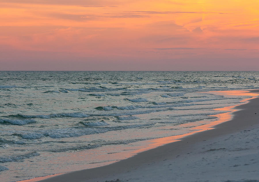 Pastel Gulf Coast Sunset by John Harmon