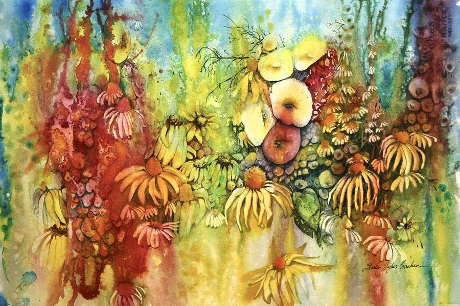 Pastel Jungle by Shirley Sykes Bracken