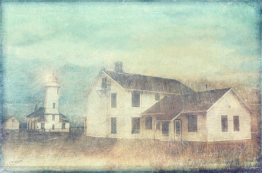 Lighthouse Photograph - Pastel Point Wilson Light by Joy Gerow
