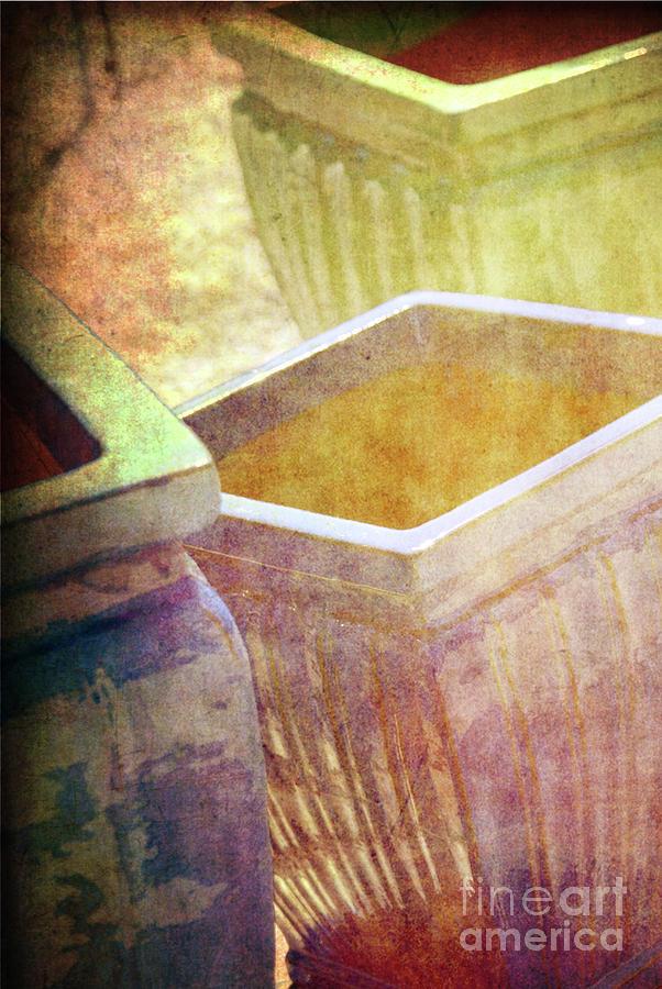 Pottery Photograph - Pastel Pottery by Susanne Van Hulst