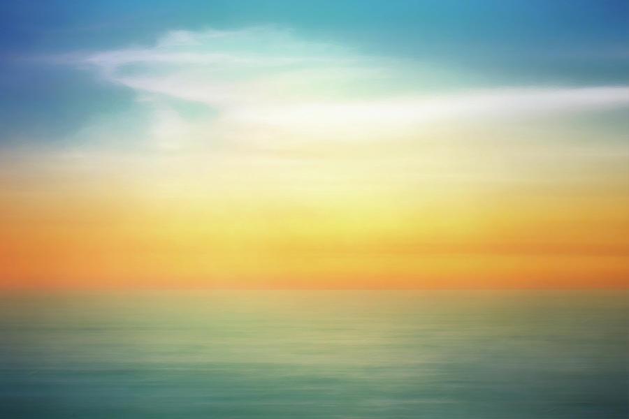 Pastel Sunrise Digital Art