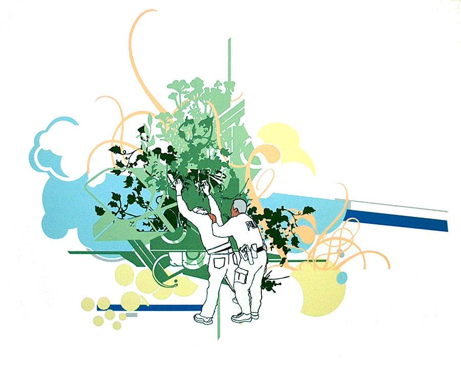 Serie Print - Pastos Verdes Y Cielos Azules by Miguel Aragon