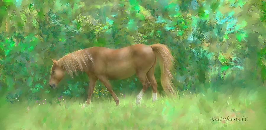 Pasture Horse by Kari Nanstad