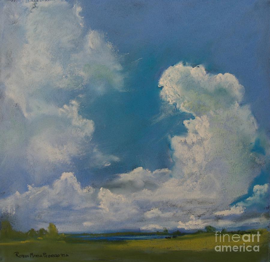 Pasture Pastel - Pasture by Robin Maria Pedrero