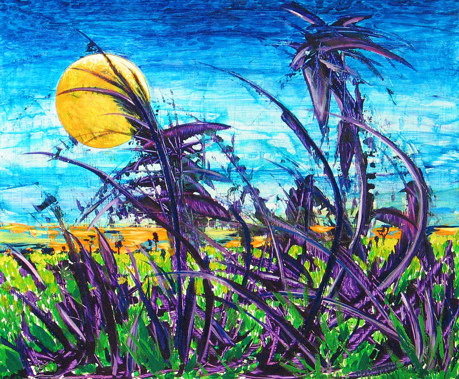 Landscape Painting - Patch Of Field Grass by Rollin Kocsis
