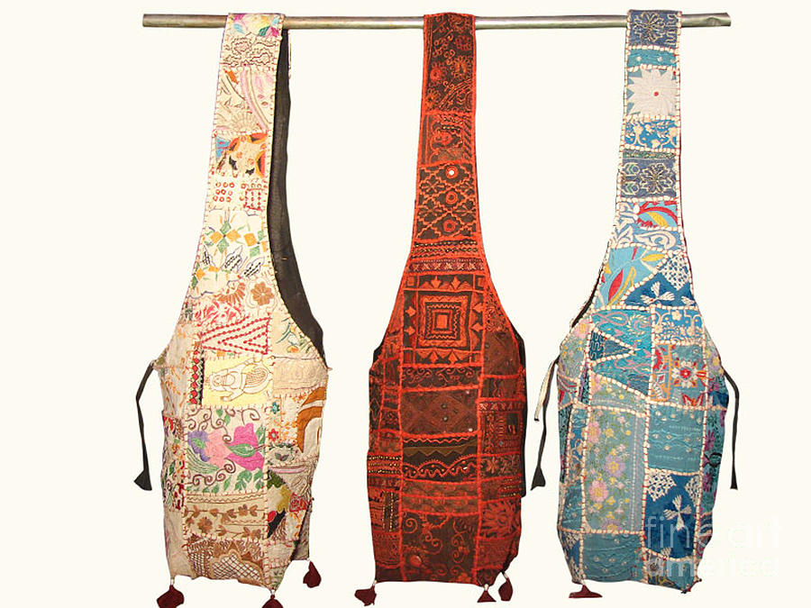 Tribal Bags Tapestry - Textile - Patch Work Bags by Banjara tribal Patchwork bags