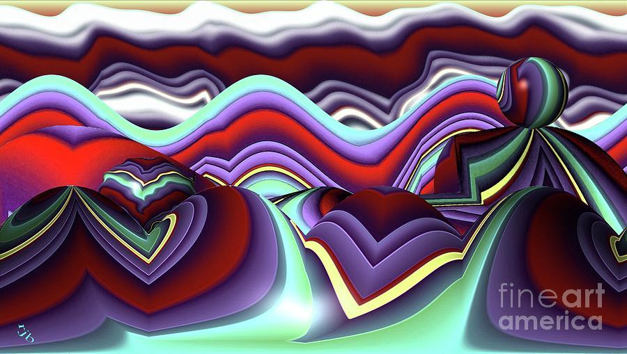 Patchwork Digital Art - Patchwork by Ron Bissett