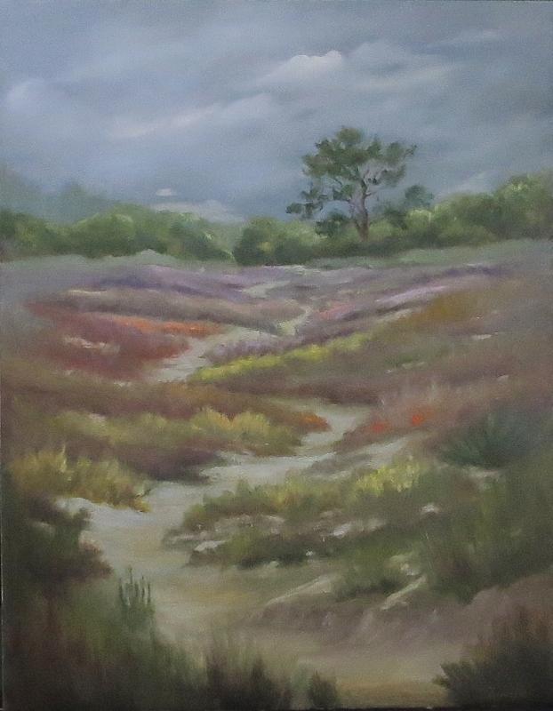 Beach Painting - Path From East Beach by Inka Zamoyska