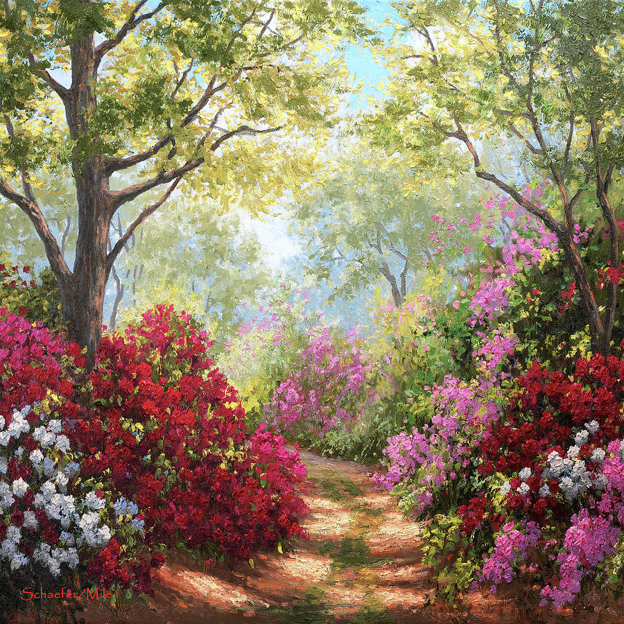 Path in a Dream by Kevin Wendy Schaefer Miles