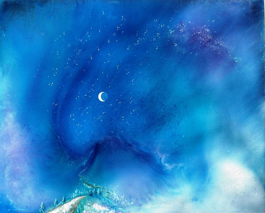 Spiritual Painting - Path Of The Morning Star by Lee Pantas