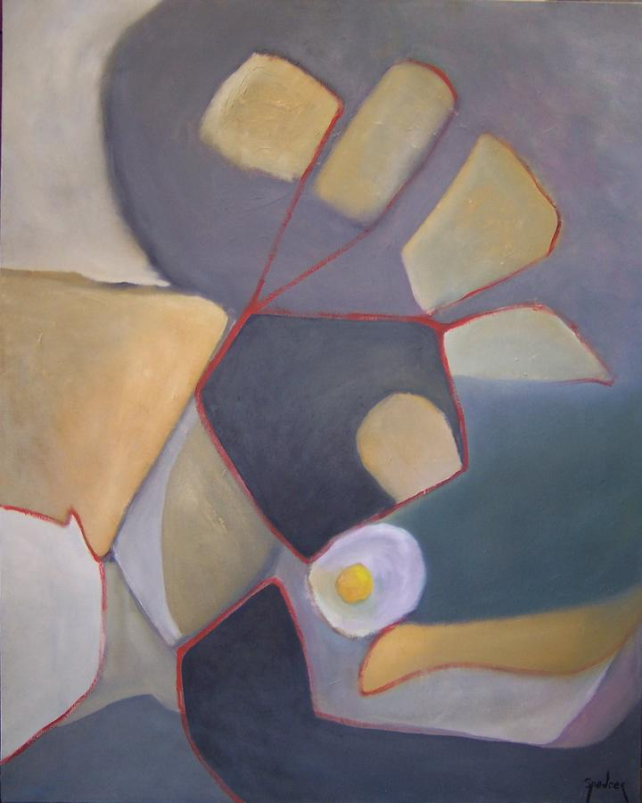 Food Painting - Path To An Egg by Scott Spencer