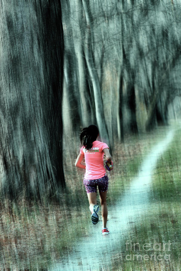 Running Photograph - Path To Glory  by Steven Digman