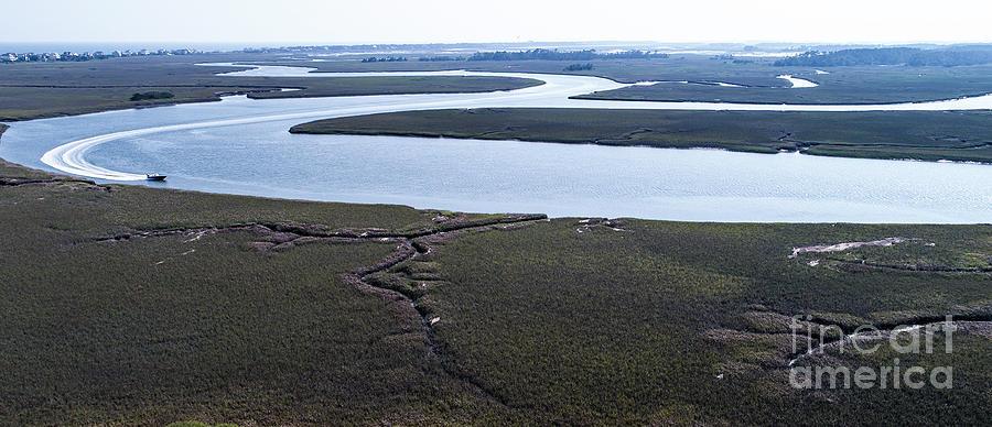 Path to Morris Island by Richard Amble