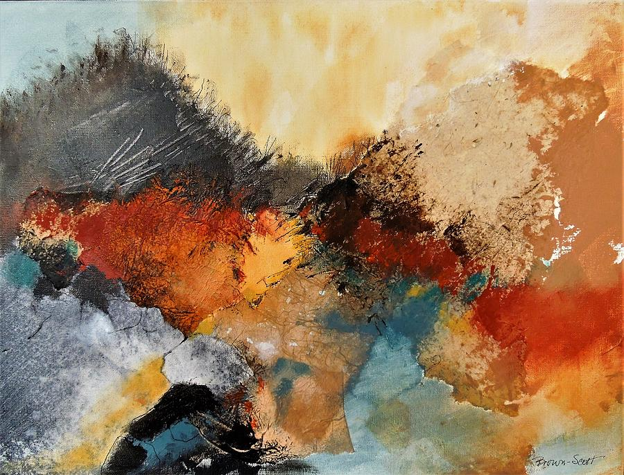 Collage Mixed Media - Path to the Beach by Jo Ann Brown-Scott