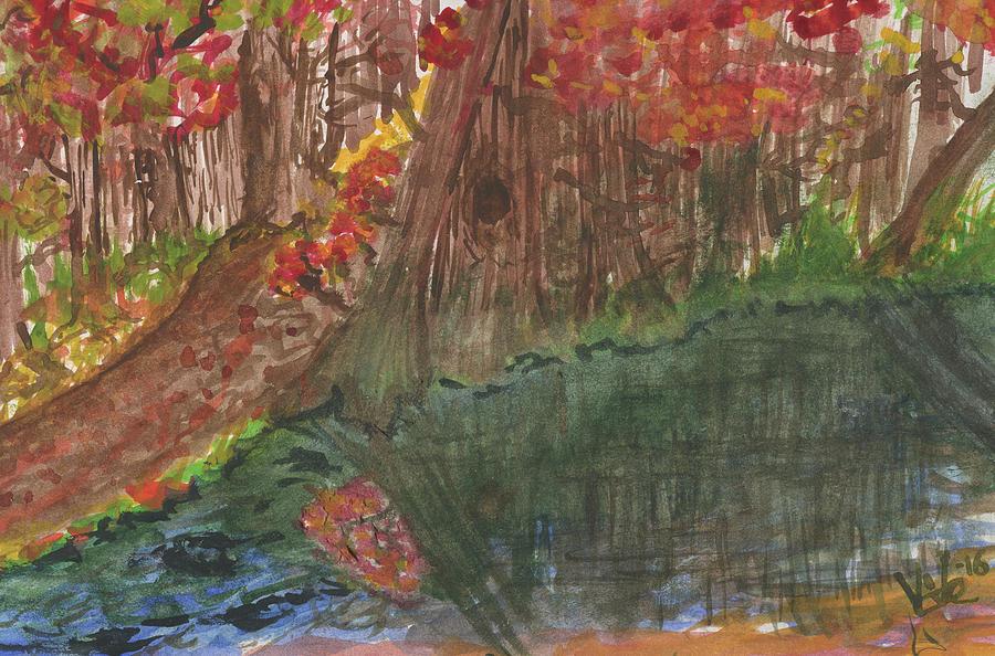 Paths of Autumn by Victor Vosen