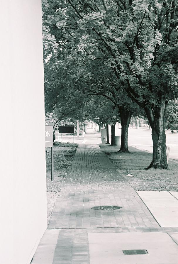 City Photograph - Pathway by Jessica Burgett