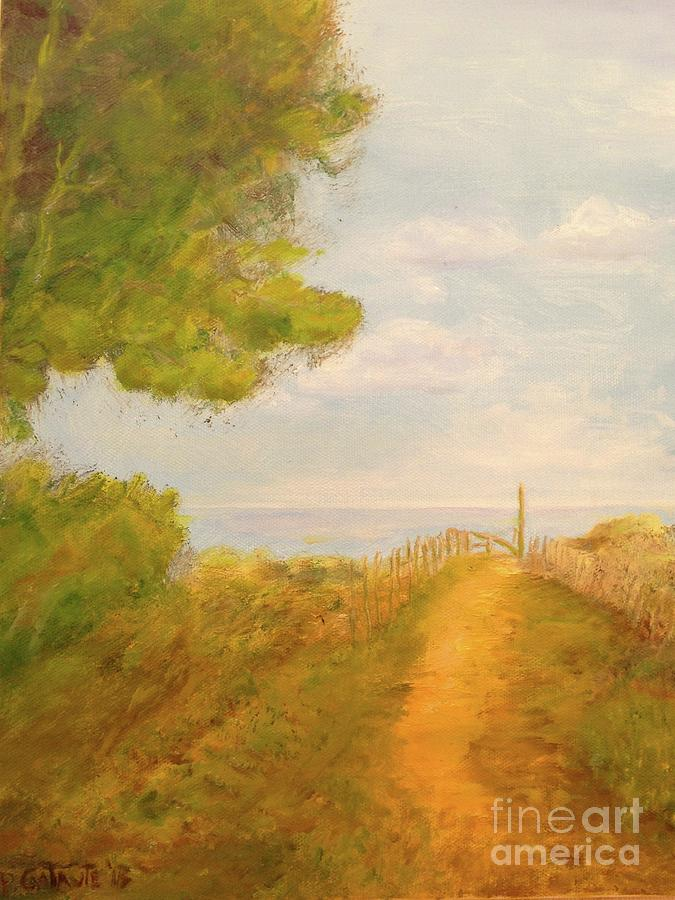 Pathway to Beach by Paul Galante