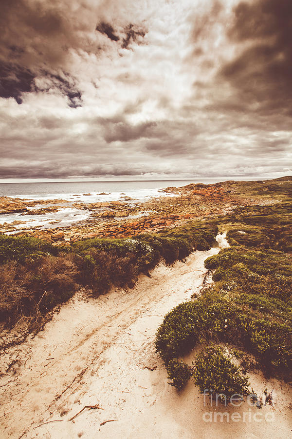 Landscape Photograph - Pathways To Seaside Paradise by Jorgo Photography - Wall Art Gallery