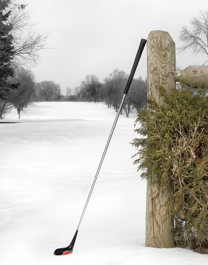 Golf Photograph - Patience by Elizabeth Reynders