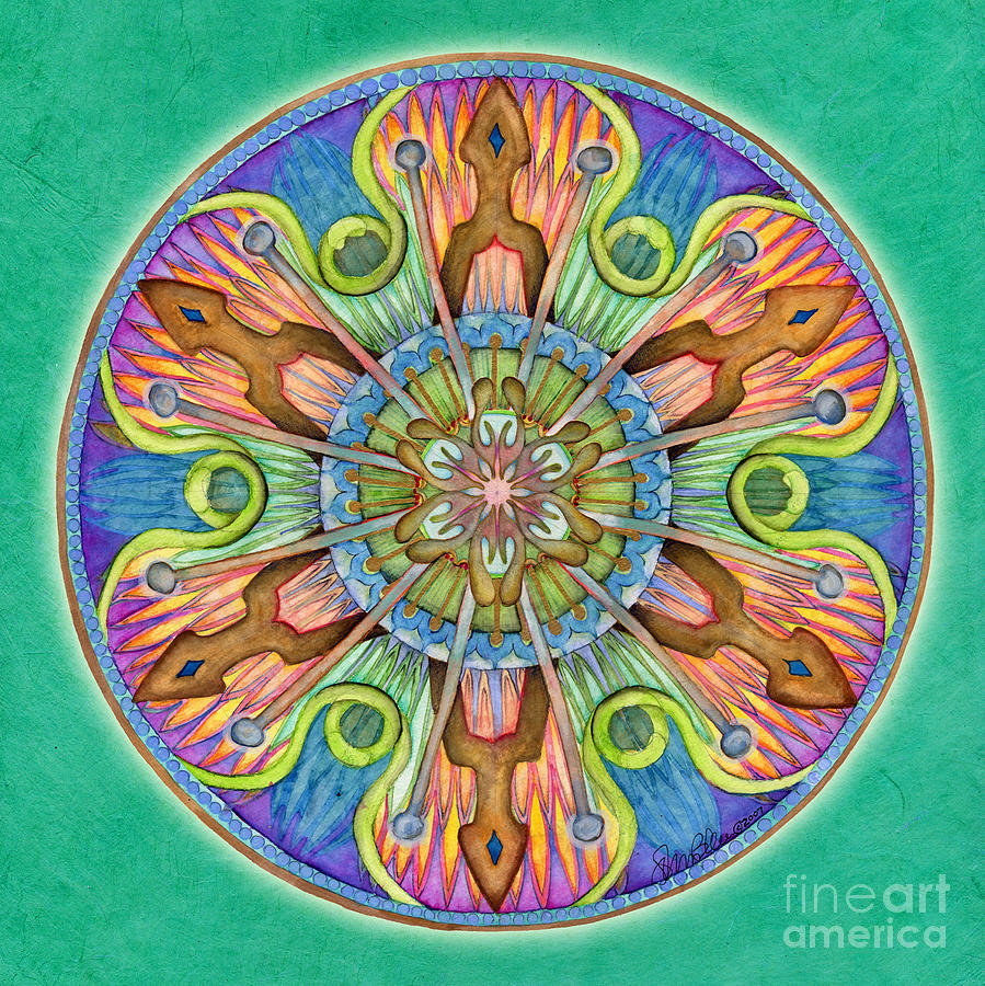 Patience Mandala by Jo Thomas Blaine