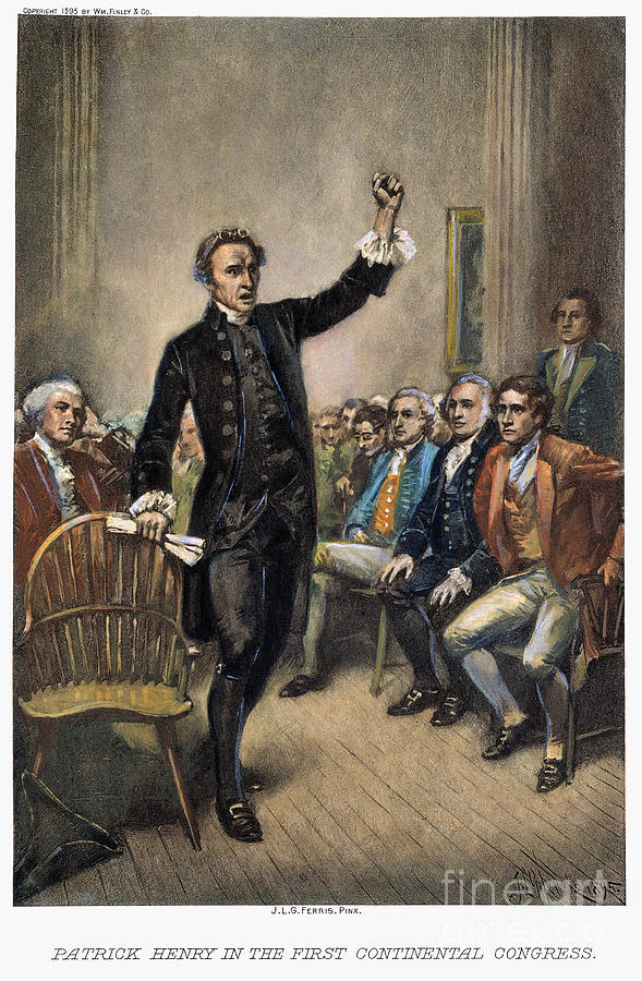 1774 Photograph - Patrick Henry (1736-1799) by Granger
