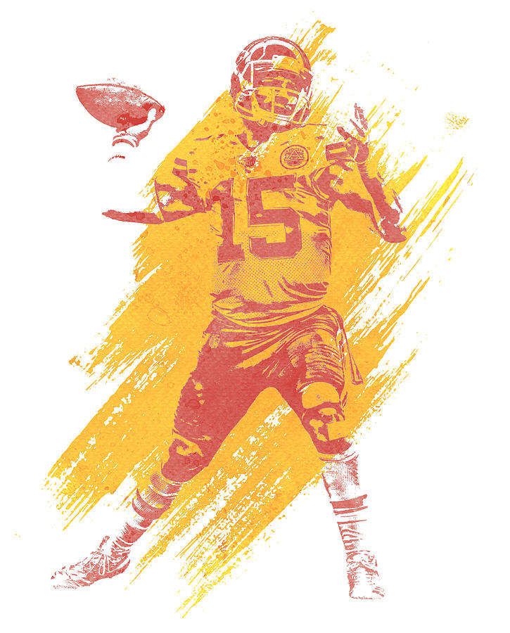 It's just an image of Smart Patrick Mahomes Coloring Pages