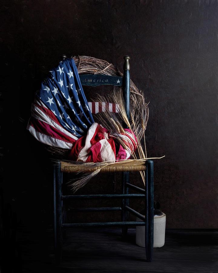America Photograph - Patriotic Decor by Tom Mc Nemar