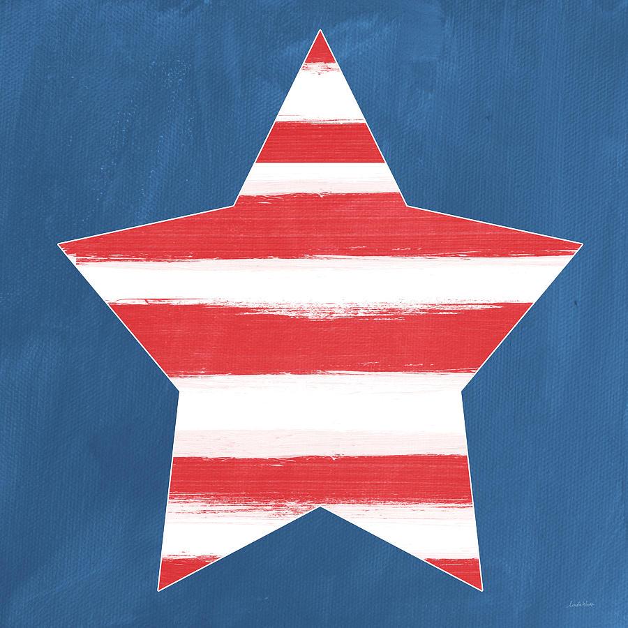 Patriotic Star Painting