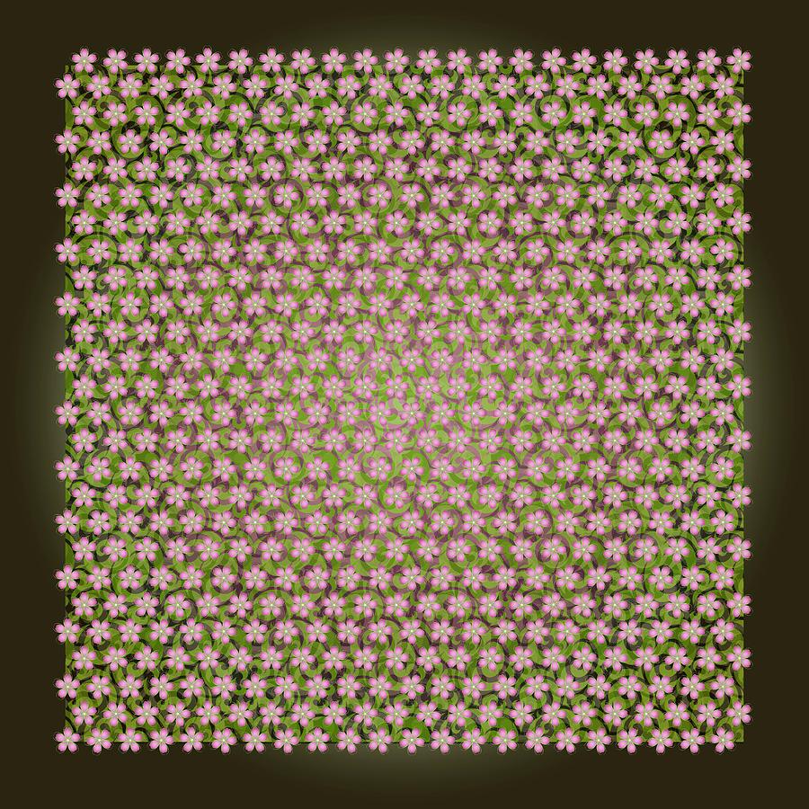 Pattern Digital Art - Pattern 158 by Irina Effa