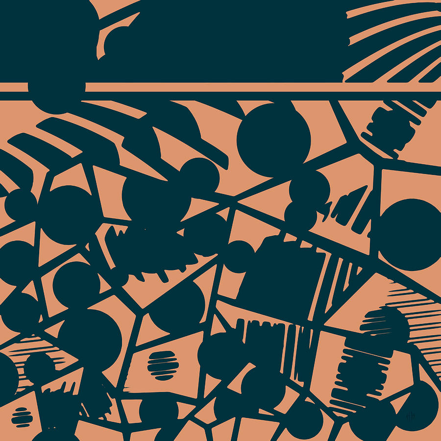 Pattern Digital Art - Pattern 59 by Irina Effa