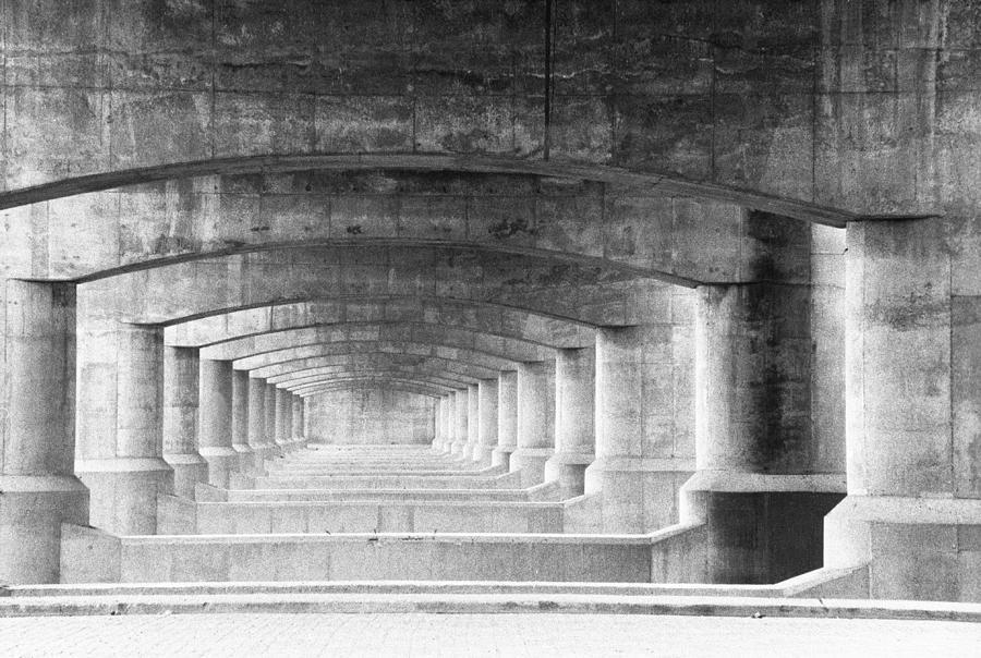 Black & White Photograph - Patterns by Eric Foltz