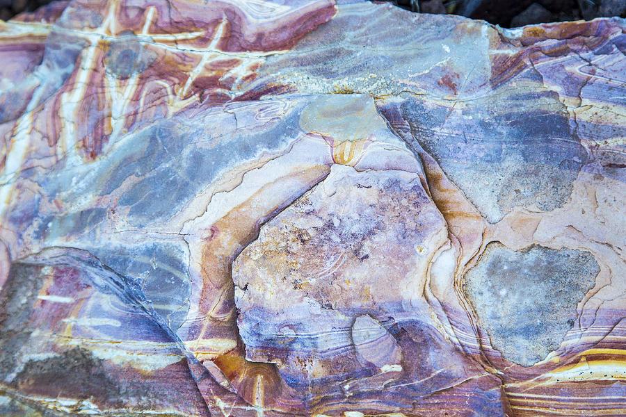 Patterns in Rock 2 by Kathy Adams Clark