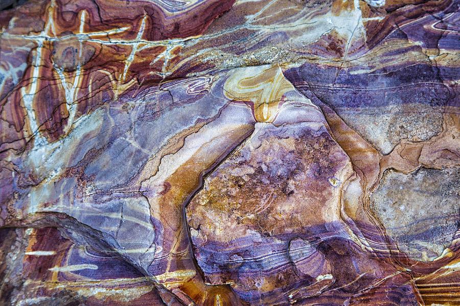Patterns in Rock 3 by Kathy Adams Clark