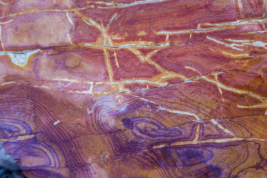 Patterns in Rock 6 by Kathy Adams Clark