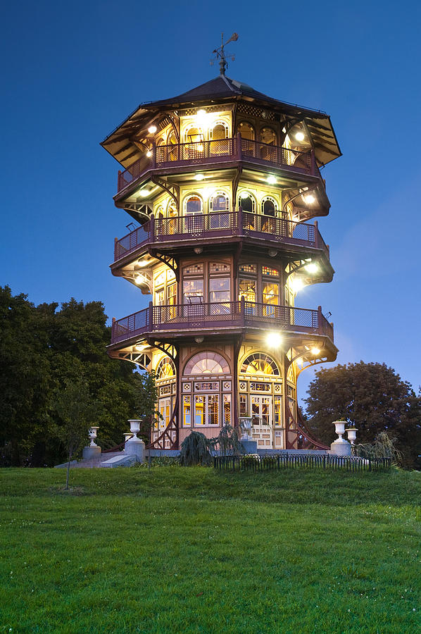 Patterson Park Pagoda. Baltimore Maryland  Photograph by Matthew Saindon