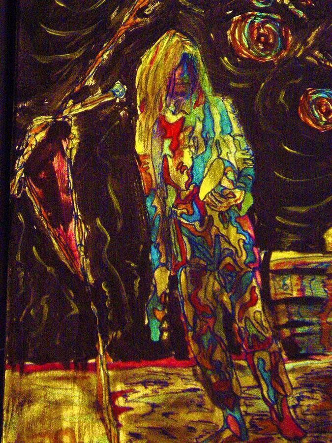 Patti Smith Painting - Patti Smith by Gayland Morris