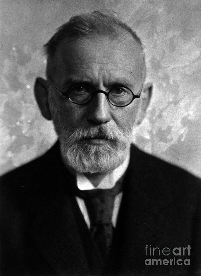 Science Photograph - Paul Ehrlich, German Immunologist by Science Source