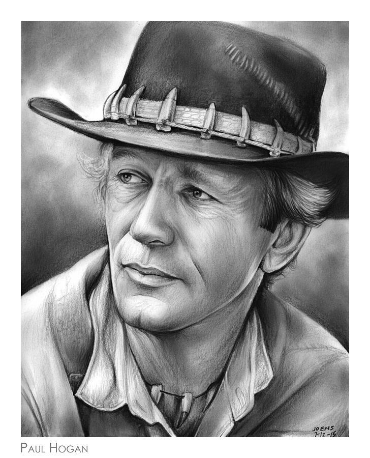 Paul Hogan Drawing