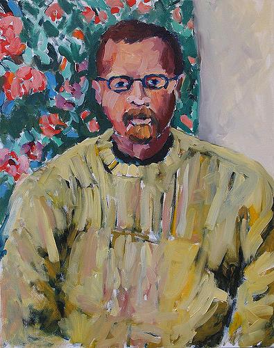 Portrait Painting - Paul Jones by Thom Duffy