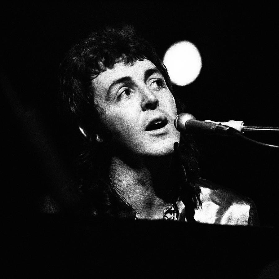 Paul McCartney 1973 Square by Chris Walter