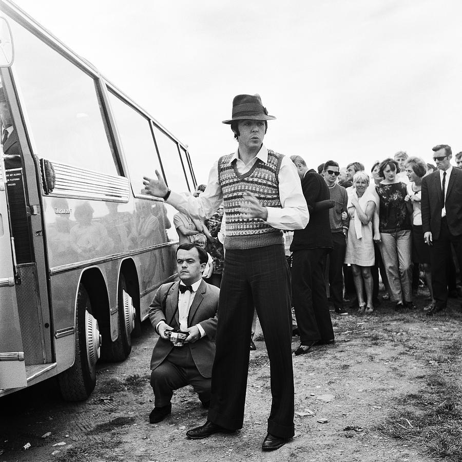 Paul Mccartney Photograph - Paul Mccartney Beatles Magical Mystery Tour by Chris Walter