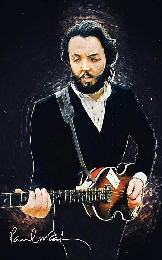 Paul Mccartney Digital Art