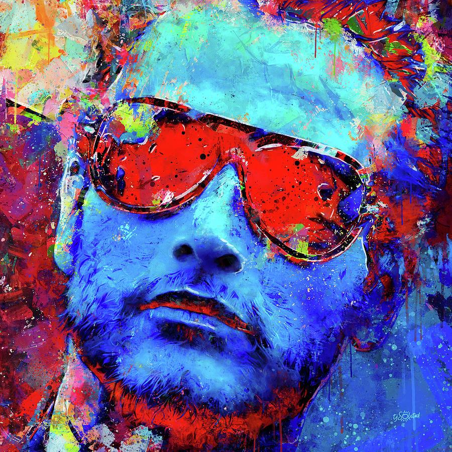 Paul Painting - Paul Newman by TJ Solstad