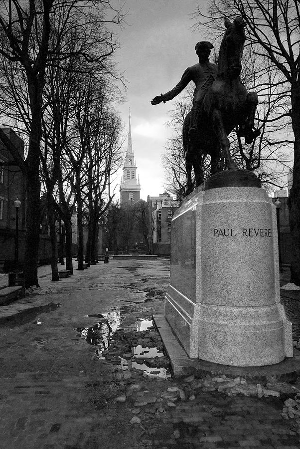 Architecture Photograph - Paul Revere by Andrew Kubica