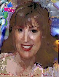 Portrait Mixed Media - Paula by Noredin Morgan