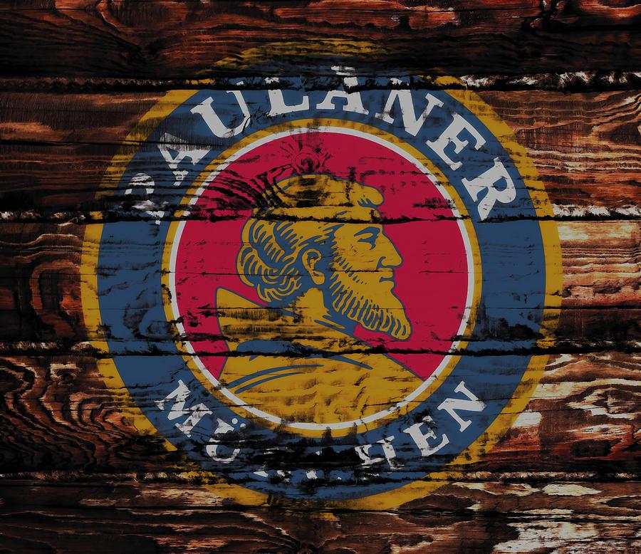 Paulaner Mixed Media - Paulaner Beer Sign 1a by Brian Reaves